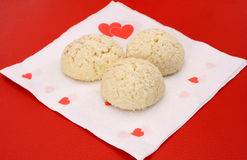Biscuits d'amour Photo libre de droits