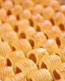 Biscuits d'ananas Photos libres de droits