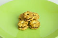 Biscuits d'ananas Images libres de droits