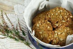 Biscuits d'Anzac photographie stock libre de droits