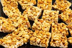 Biscuits d'arachide Images stock