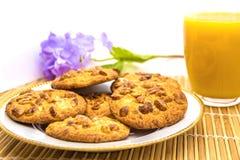 Biscuits d'arachide Photos libres de droits