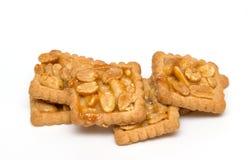 Biscuits d'arachide Image libre de droits