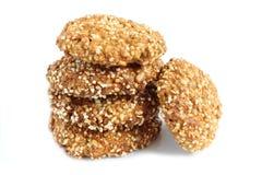 Biscuits d'avoine images libres de droits