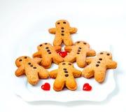 Biscuits d'hommes Photographie stock libre de droits