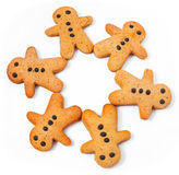 Biscuits d'hommes Images stock