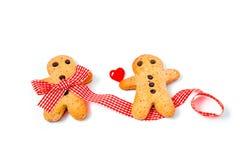 Biscuits d'hommes Photo libre de droits