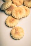 Biscuits d'huître Photos libres de droits