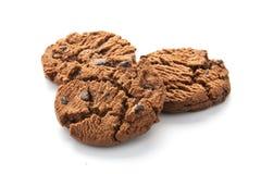 Biscuits d'isolement sur le blanc image stock