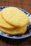 Biscuits d'oeufs Images libres de droits