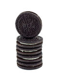 Biscuits d'Oreo. image stock