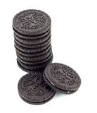 Biscuits d'Oreo. photos stock