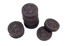 Biscuits d'Oreo. images stock