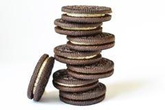 Biscuits d'Oreo Image libre de droits