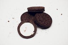 Biscuits d'Oreo photo libre de droits