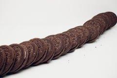 Biscuits d'Oreo images libres de droits
