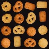 Biscuits danois - positionnement editable de vecteur illustration stock