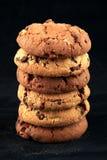 Biscuits dans une pile photo stock