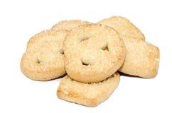 Biscuits de beurre photographie stock