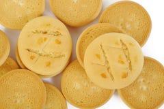 Biscuits de beurre Photographie stock libre de droits