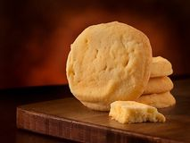 Biscuits de beurre Photo libre de droits