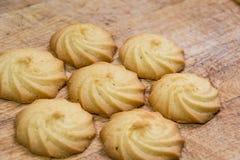 Biscuits de beurre Images stock