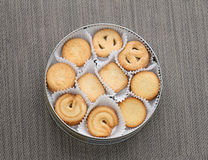 Biscuits de beurre photo stock