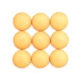 Biscuits de beurre images libres de droits