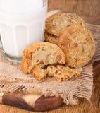 Biscuits de beurre d'arachide Photo stock