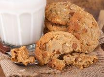 Biscuits de beurre d'arachide Photographie stock libre de droits