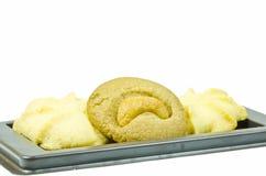 Biscuits de beurre de lait Photos stock