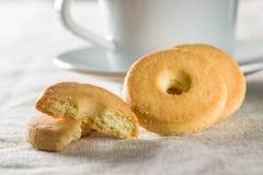 Biscuits de beurre doux images libres de droits