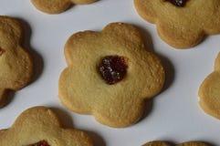 Biscuits de beurre faits maison Images libres de droits