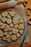 Biscuits de beurre pour le jour de mère Photo libre de droits