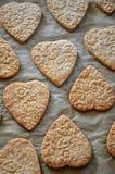 Biscuits de beurre pour le jour de mère Photos stock