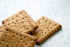 Biscuits de blé photographie stock