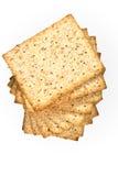 Biscuits de blé entier images libres de droits