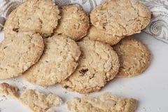 Biscuits de blé entier Photos libres de droits