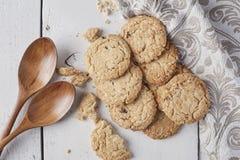 Biscuits de blé entier Images stock