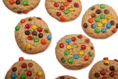 Biscuits de bonbons au chocolat photographie stock