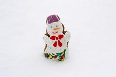 Biscuits de bonhomme de neige Image libre de droits