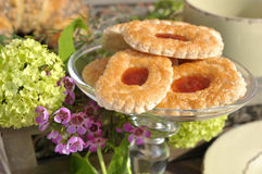 Biscuits de bourrage photos stock