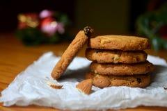 Biscuits de Brown image stock