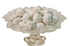 Biscuits de Butterball de puce de chocolat Photos stock