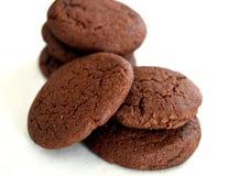 Biscuits de cacao Image stock