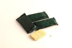 Biscuits de café Photographie stock libre de droits