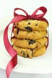 Biscuits de canneberge Image libre de droits