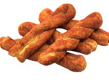 Biscuits de cannelle Image libre de droits