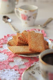 Biscuits de cannelle Photo stock