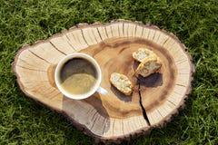 Biscuits de Cantuccini Image libre de droits